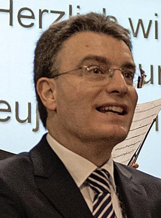 Bürgermeister Thorsten Erny  | Foto: M Seiler