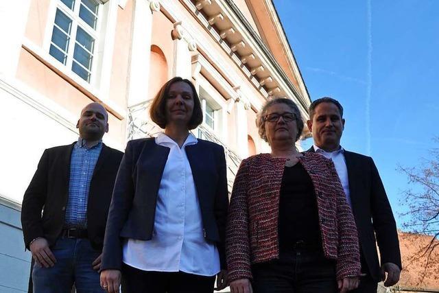 Zwei Schlüsselpositionen im Schopfheimer Rathaus sind wieder besetzt