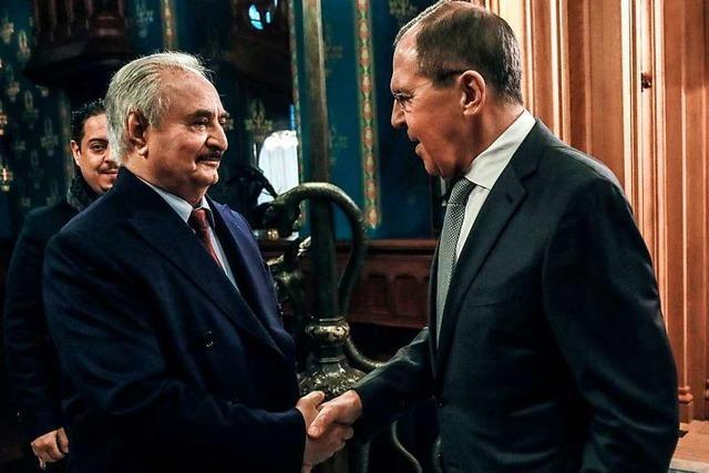 Merkel lädt für Sonntag zu Libyen-Gipfeltreffen in Berlin ein