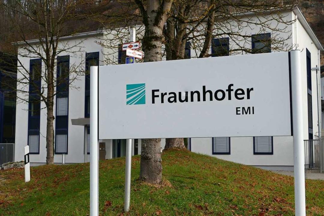 Das Fraunhofer EMI untersucht die Phys... daraus Lösungen für die Industrie ab.    Foto: Victoria Langelott