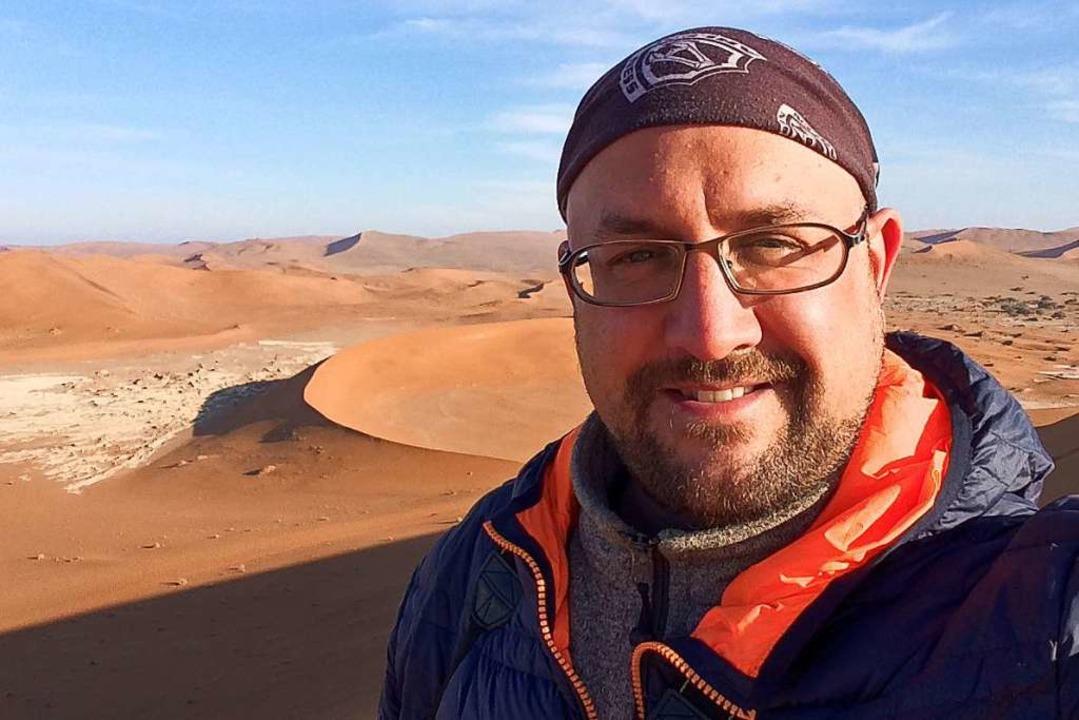 <ppp> und am Ende landet er in der Wüste.</ppp>  | Foto: Rolf Lange