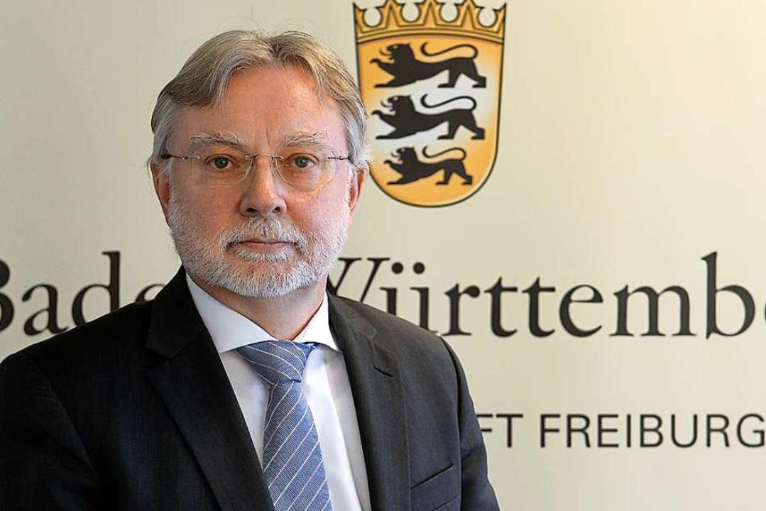 Dieter Inhofer leitet seit 2014 die St...Modellversuch zeigt er sich zufrieden.  | Foto: Ingo Schneider
