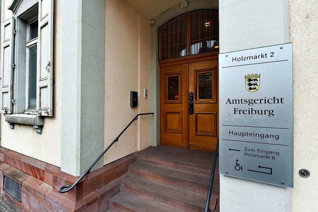 Das Amtsgericht Freiburg bekommt  eine...he Stelle für beschleunigte Verfahren.  | Foto: Thomas Kunz