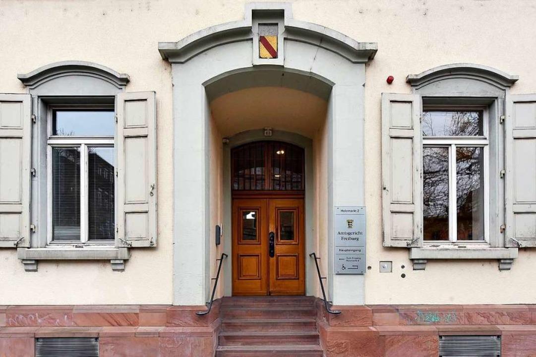 Im Amtsgericht Freiburg finden die kur... anberaumten Hauptverhandlungen statt.  | Foto: Thomas Kunz