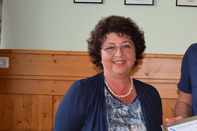 Sigrid Böhler verzichtet auf eine erneute Kandidatur in Aitern