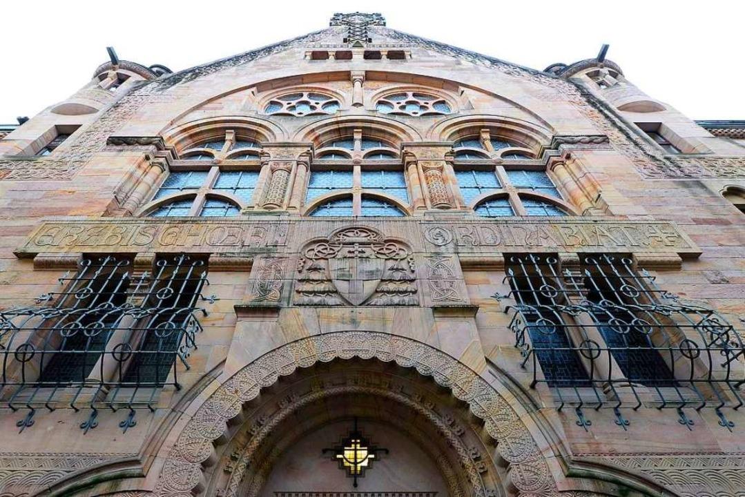 Das erzbischöfliche Ordinariat in Frei...eht voraussichtlich nicht zum Verkauf.  | Foto: Ingo Schneider