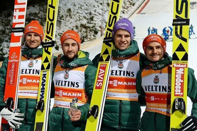Am Wochenende wird Titisee-Neustadt zum Mekka der Skispringer und Fans