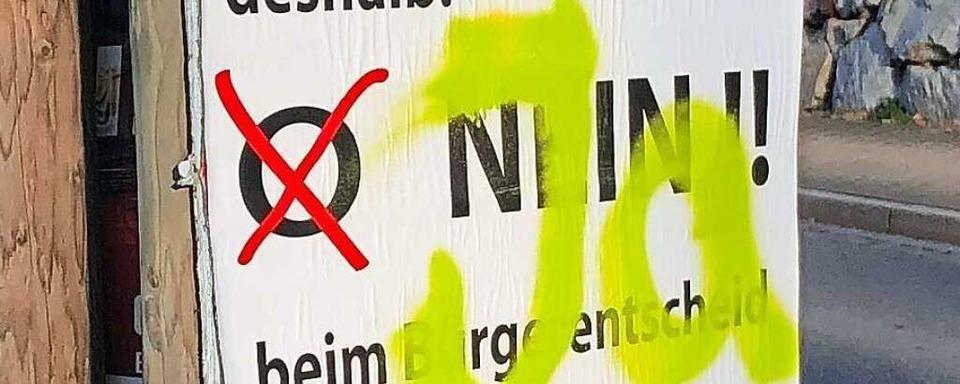 Streit um Malteserschloss: Plakate der Schulgegner sind verschwunden
