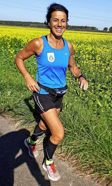 Das Laufen macht erkennbar viel Spaß.   | Foto: Felicitas Rohrer
