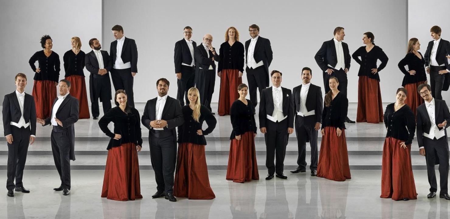 Mit dem Kammerchor Stuttgart gastiert ...ifatius,  und das bei freiem Eintritt.  | Foto: Jens Meisert