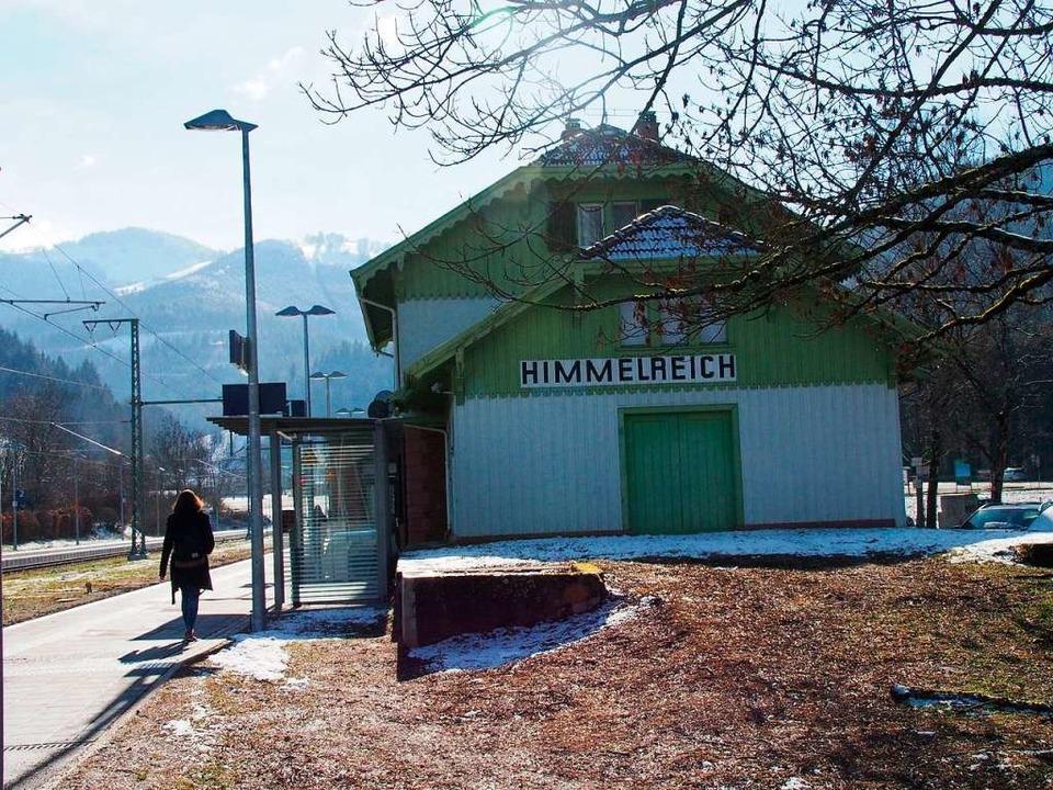 Kein Zug nach  Himmelreich (Archivbild... am Ausgang des Höllentales erreichen.  | Foto: Markus Donner