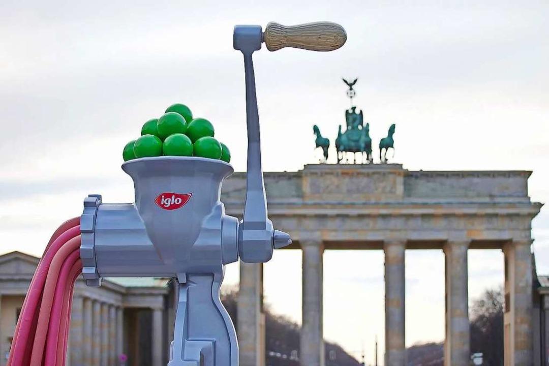 Es muss nicht immer Fleisch sein: Iglo...entiert Fleischersatz auf Erbsenbasis.  | Foto: iglo Deutschland (dpa)
