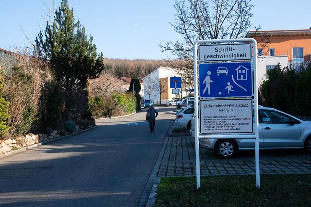In der Emil-Bizer-Straße ist ein verkehrsberuhigter Bereich eingerichtet.  | Foto: Volker Münch
