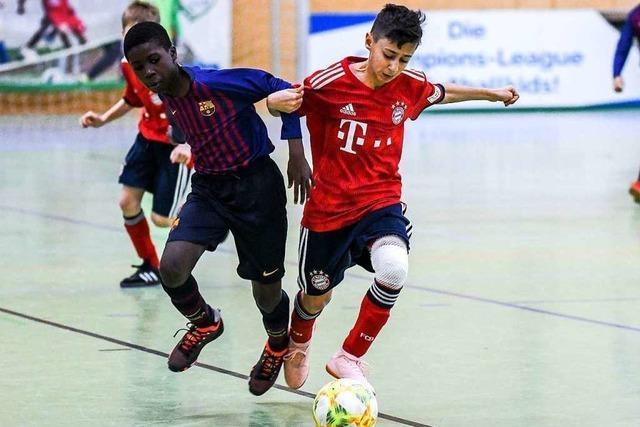 FC Bayern, Barcelona und Juve spielen in Lörrach