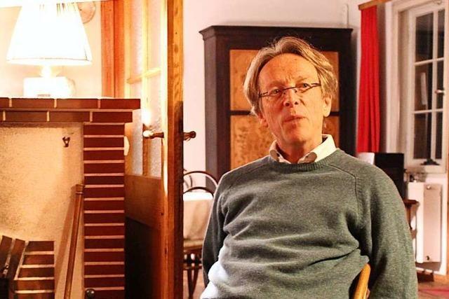 Buchenbachs Bürgermeisterkandidat Ernst von Marschall will lebendiges Zentrum in der Gemeinde