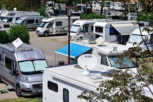 Freiburger Wohnmobilstellplatz soll auf neuen Stadion-Parkplatz umziehen