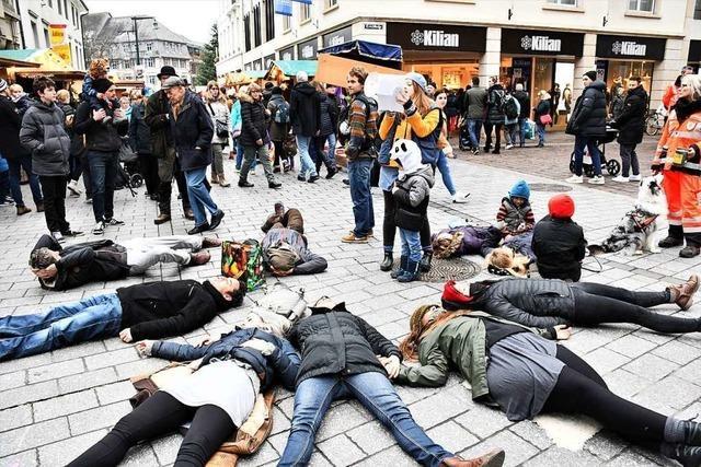 Extinction Rebellion demonstriert am Samstag in Weil am Rhein