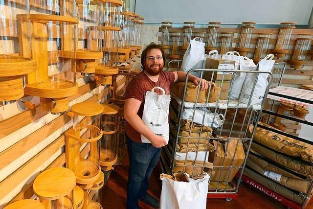 Verpackungsfreier Supermarkt in Freiburg eröffnet zweite Filiale in Herdern