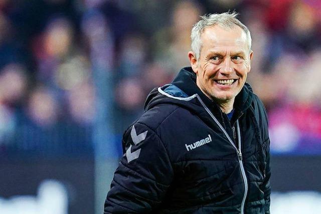 Video: Streich hofft gegen Mainz 05 auf Daddy-Power