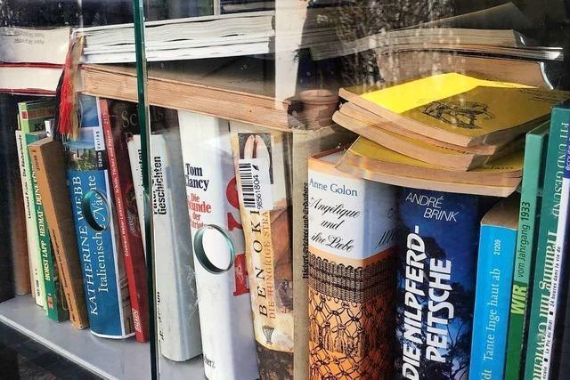 Der Umgang mit öffentlichen Bücherschränken bereitet Probleme