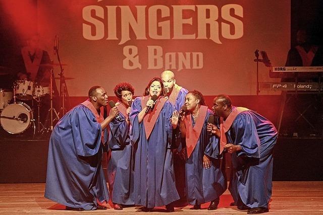 The Original USA Gospel Singers & Band in Denzlingen