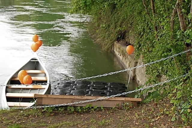 Im IBA-Jahr erhalten Wassersportler eine Kanu-Station