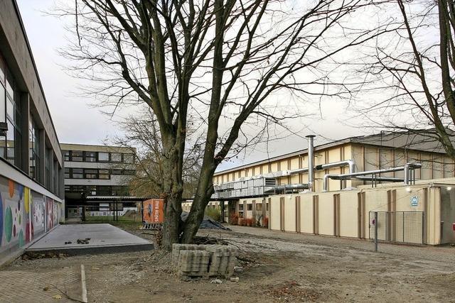 Baubeginn am Schulzentrum
