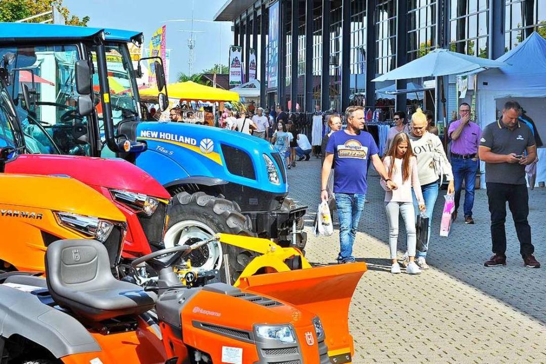 Im Jahr 2019 kamen 40 Prozent weniger ... und Besucher zur Badenmesse als 2018.  | Foto: Michael Bamberger