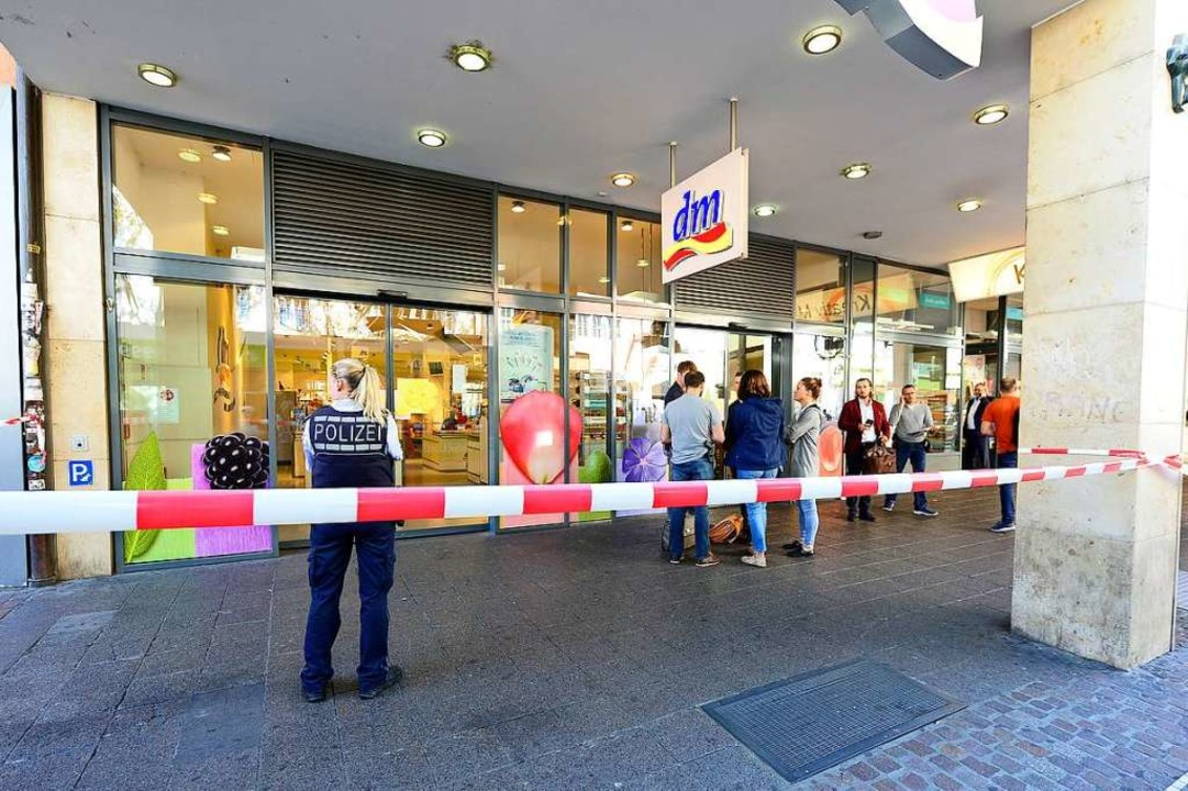 Am 3. September wurden Teile des Markts verwpstet.  | Foto: Ingo Schneider