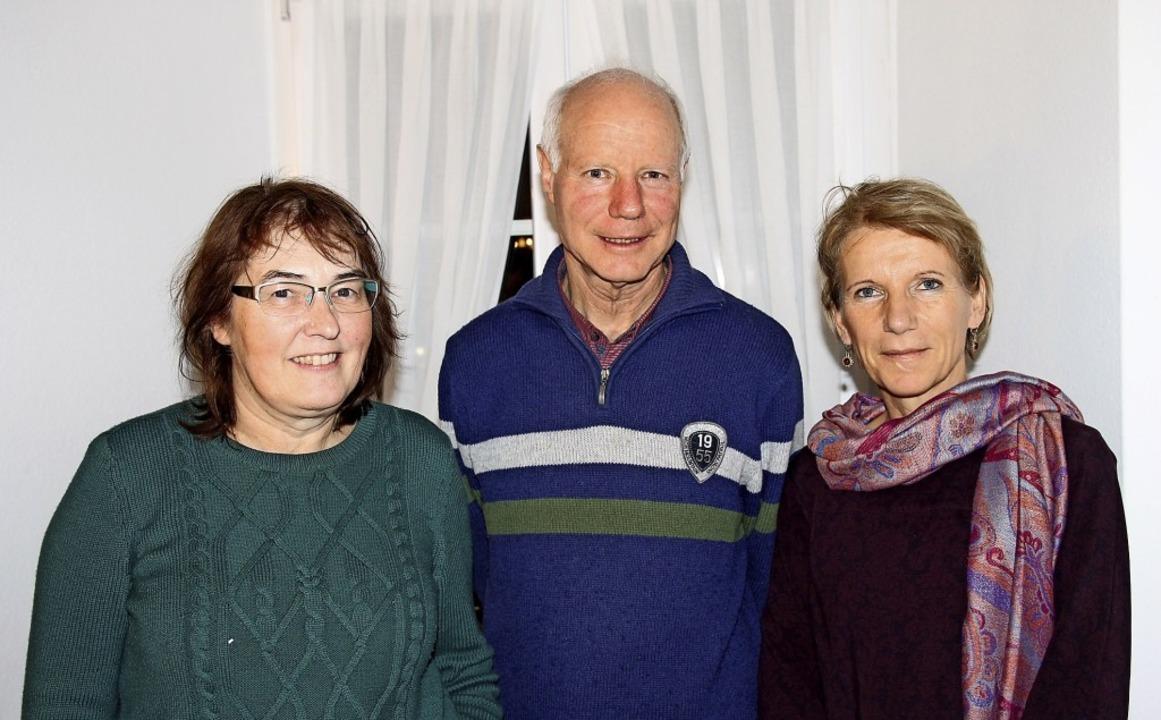 Neu organisiert hat sich der Vorstand ...l Albiez-Kaiser und Carmen Studinger.   | Foto: suedkurier