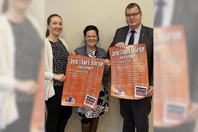Kenzingen startet eigene Jobstartbörse