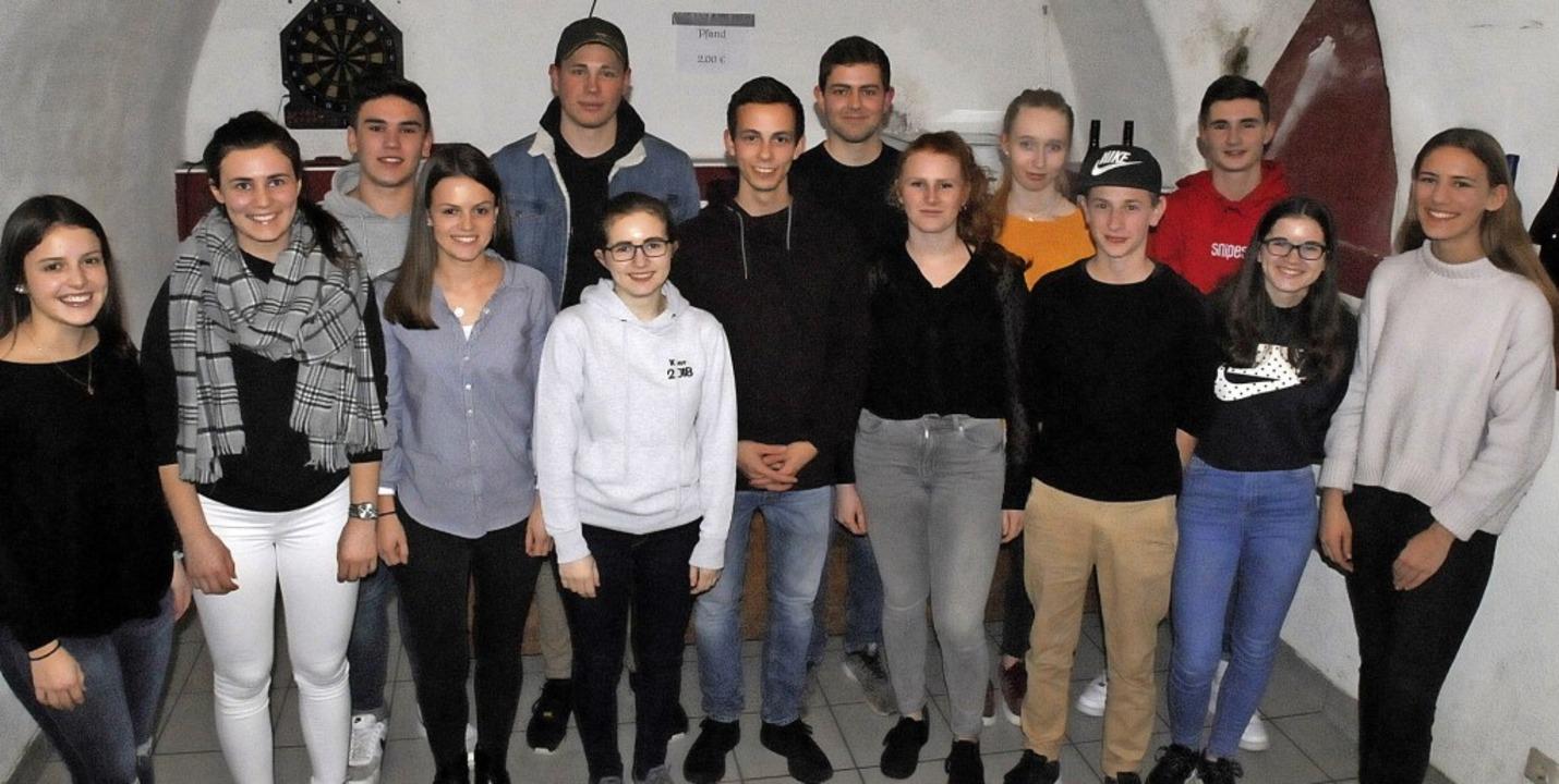 Der neue Vorstand der  Oberrotweiler Landjugend    Foto: Herbert Trogus