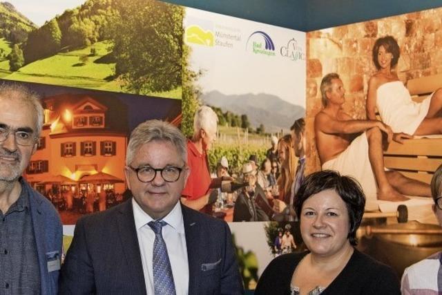 Die Tourismusregion Breisgau-Süd auf der CMT vorgestellt
