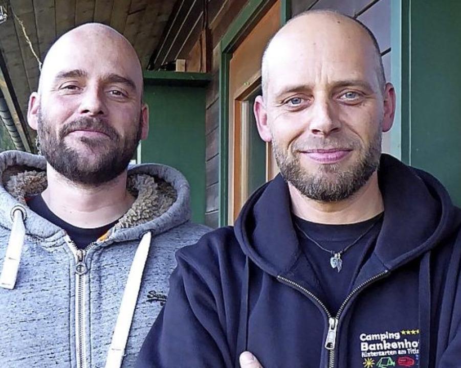 Martin Schubnell (rechts) und Florian Kaltenbach.   | Foto: Peter Stellmach