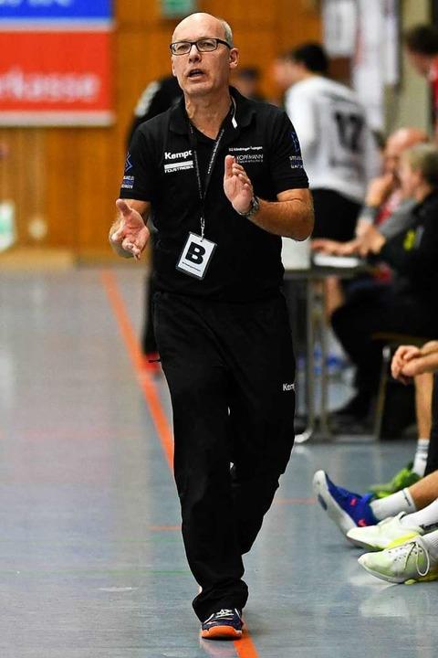 Interimstrainer Manfred Chaumet will m...eningen eine solide Rückrunde spielen.  | Foto: Patrick Seeger