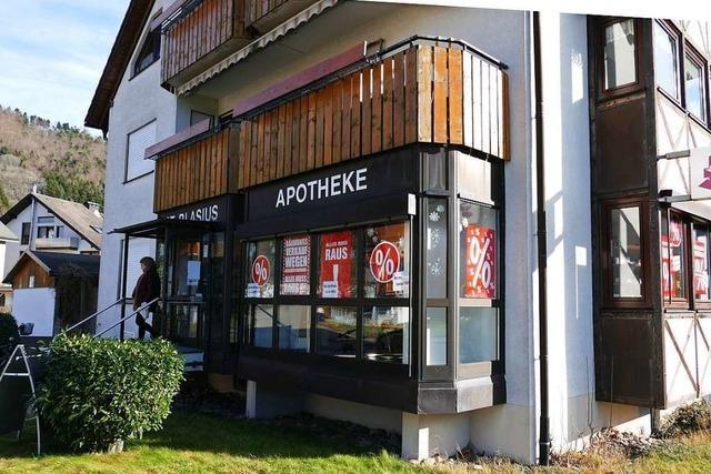 Die Apotheke in Buchenbach schließt