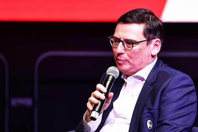 Der SC Freiburg will jetzt schleunigst einen Nachfolger für Fritz Keller finden