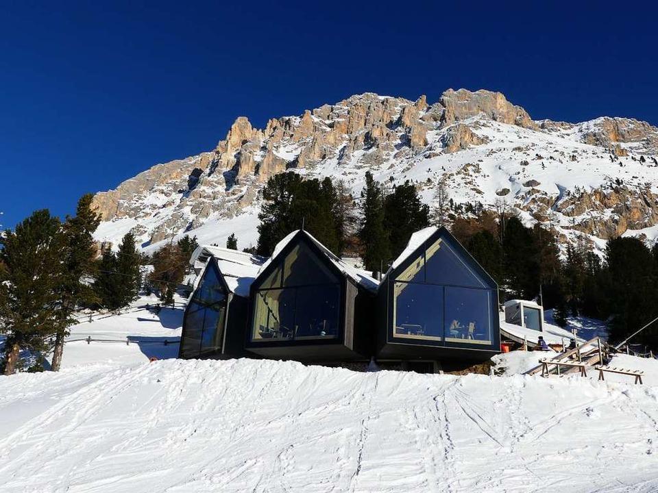 Die Oberholzhütte unterhalb des Latemar  | Foto: Ulrike Ott