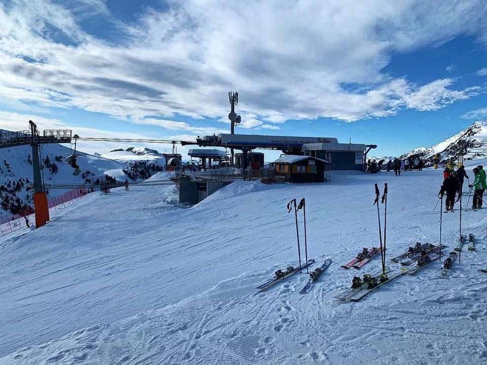 Im Skigebiet Obereggen-Latemar  | Foto: Ulrike Ott