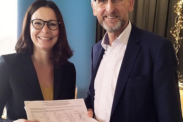 Unterschriften für mehr Ärzte