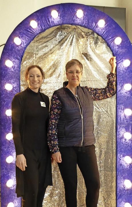 Jasmin Baumgratz und Simone Allweyer    Foto: Sylvia-Karina Jahn