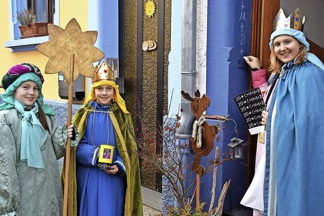 Als Könige von Tür zu Tür