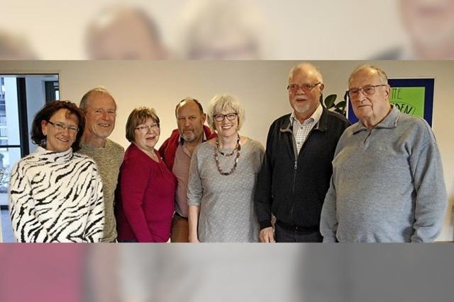 Parkinson Regionalgruppe mit neuem Vorstand