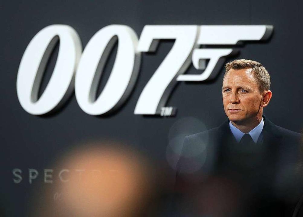 Noch-James-Bond Daniel Craig (Archivfoto von 2017).  | Foto: Jörg Carstensen