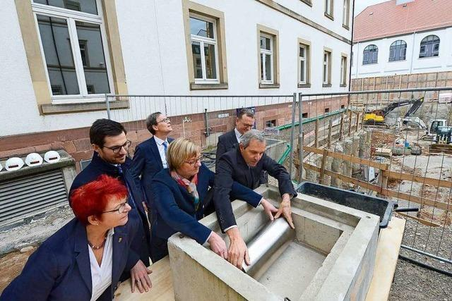 2022 soll das neue Freiburger Justizzentrum am Holzmarkt fertig sein