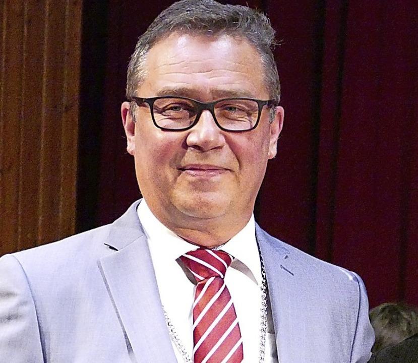 Bürgermeister Philipp Schmid  | Foto: Victoria Langelott