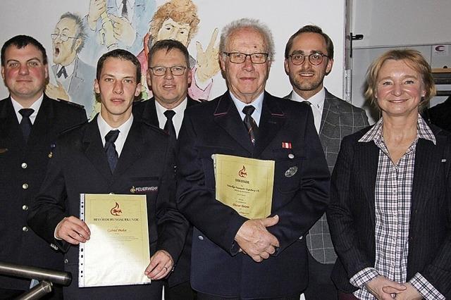 Arbeitsreiches Jahr für die Burkheimer Feuerwehr