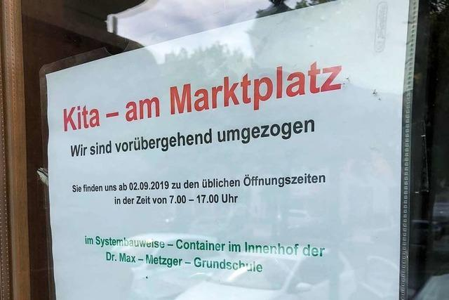 Denkmalamt bremst Ausbaupläne bei der Kita am Marktplatz aus