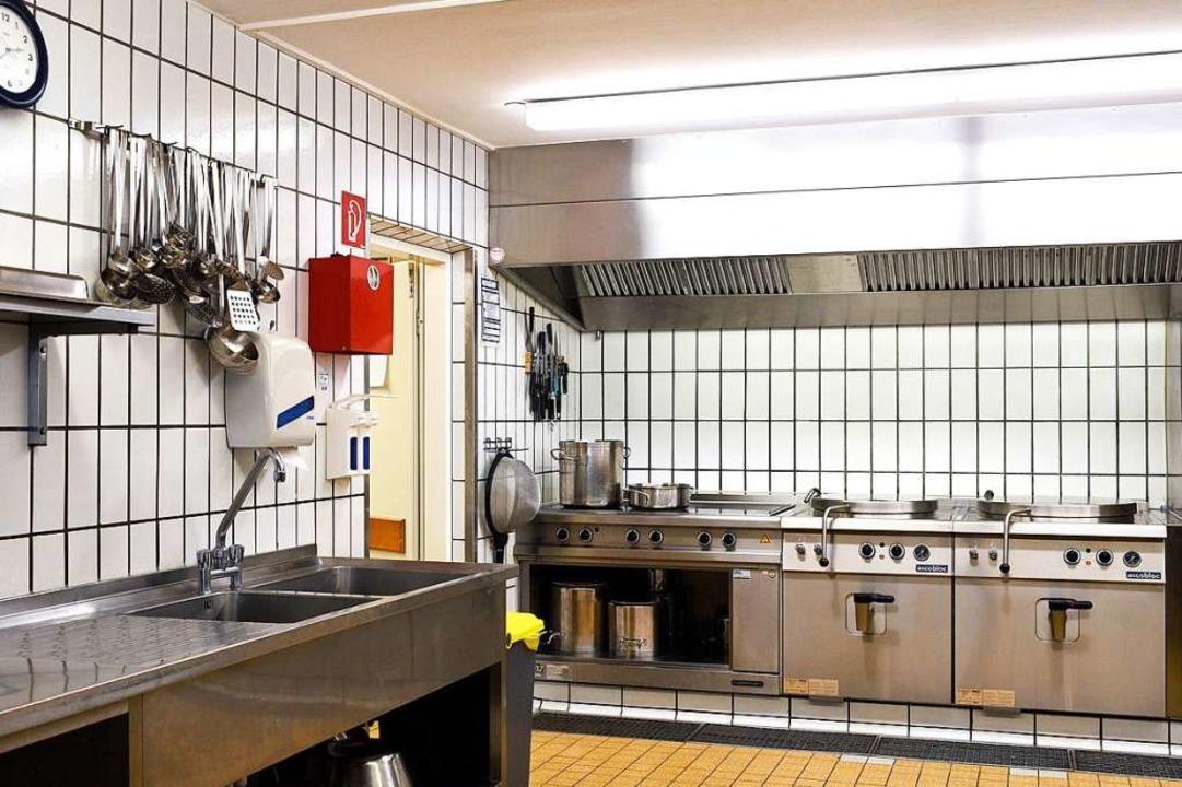 So sauber muss eine Großküche vor und nach der Arbeit im Normalfall sein.    Foto: Thomas Kunz