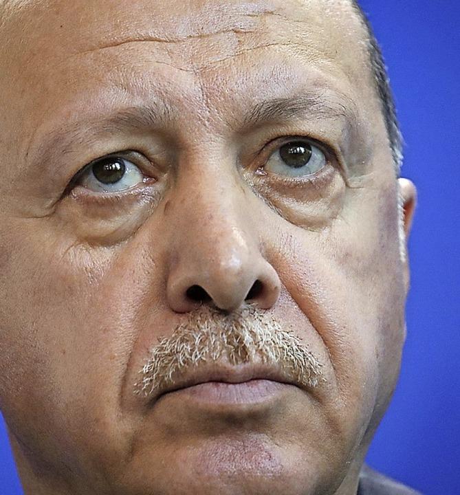 Recep Tayyip  Erdogan  | Foto: Michael Kappeler (dpa)